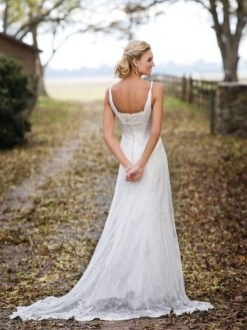 40 wedding dresses country theme ideas 29
