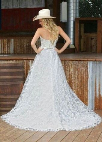 40 wedding dresses country theme ideas 6