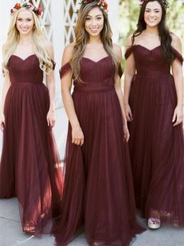 50 Amazing bridesmaid dresses for a country wedding 10