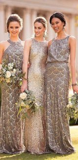 50 Amazing bridesmaid dresses for a country wedding 19