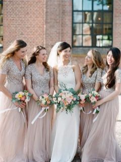 50 Amazing bridesmaid dresses for a country wedding 22