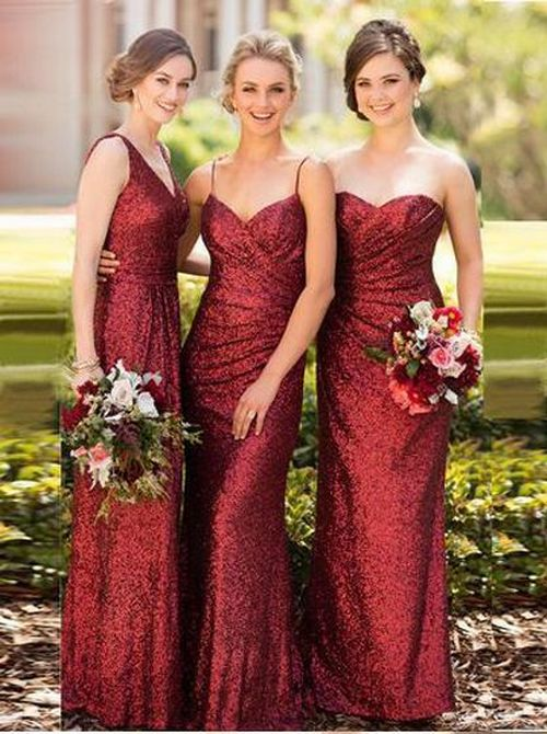 50 Amazing bridesmaid dresses for a country wedding 24