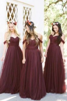 50 Amazing bridesmaid dresses for a country wedding 26