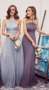 50 Amazing bridesmaid dresses for a country wedding 27