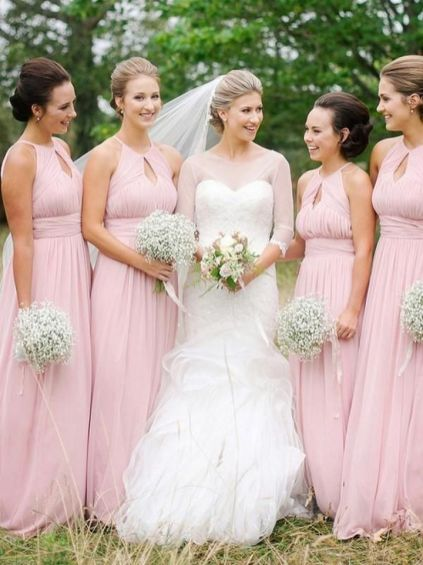 50 Amazing bridesmaid dresses for a country wedding 28