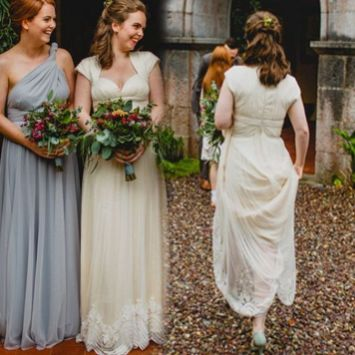 50 Amazing bridesmaid dresses for a country wedding 3