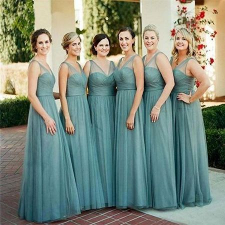 50 Amazing bridesmaid dresses for a country wedding 36