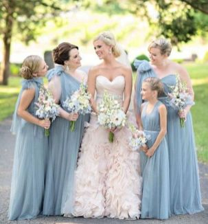 50 Amazing bridesmaid dresses for a country wedding 42
