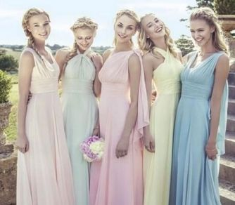 50 Amazing bridesmaid dresses for a country wedding 51