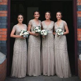 50 Amazing bridesmaid dresses for a country wedding 57