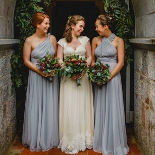 50 Amazing bridesmaid dresses for a country wedding 59