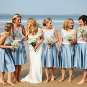 50 Amazing bridesmaid dresses for a country wedding 6