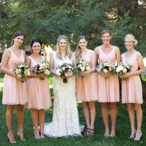 50 Amazing bridesmaid dresses for a country wedding 7