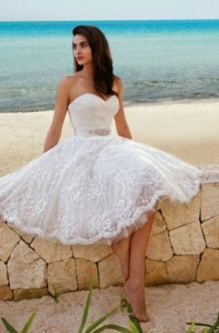 50 simple and sexy wedding dresses for the beach 28