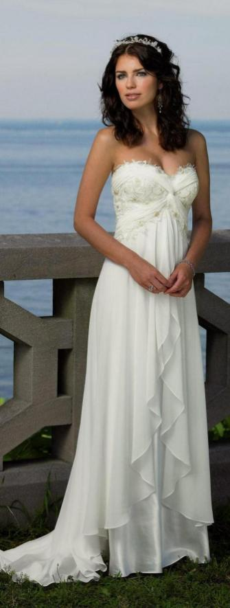 50 simple and sexy wedding dresses for the beach 42