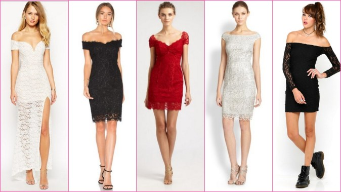 60 Classy Evening Shoulder Lace Dress for all Special Events