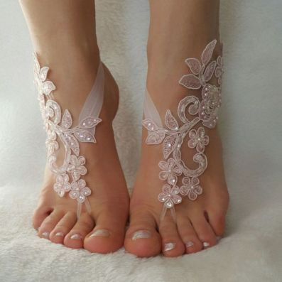 Beach Wedding Shoes and Sandals ideas 11