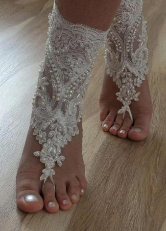 Beach Wedding Shoes and Sandals ideas 18