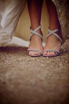 Beach Wedding Shoes and Sandals ideas 24