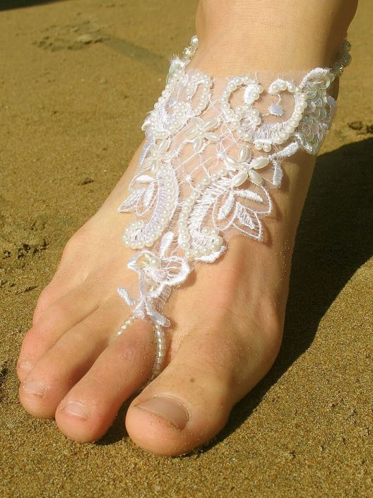Beach Wedding Shoes and Sandals ideas 5