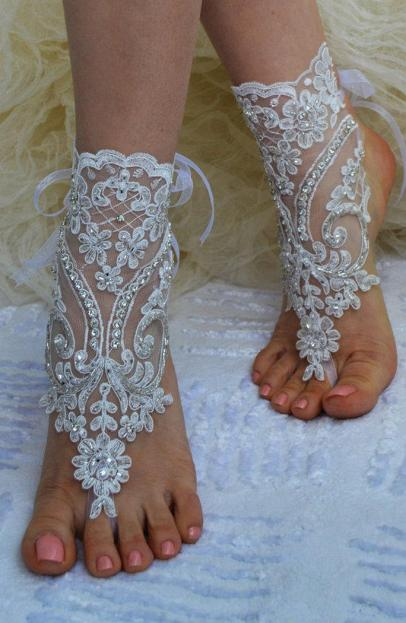 Beach Wedding Shoes and Sandals ideas 6