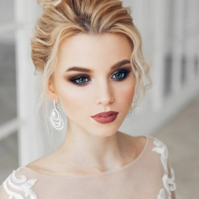 Bridal Makeup When Wedding in the Daytime 30