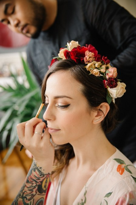 Bridal Makeup When Wedding in the Daytime 33