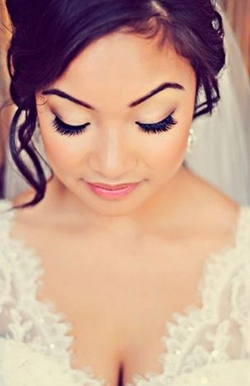 Bridal Makeup When Wedding in the Daytime 34