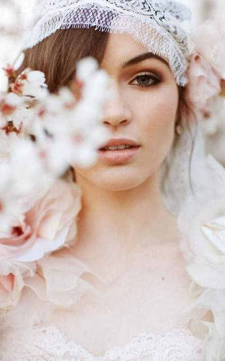 Bridal Makeup When Wedding in the Daytime 4