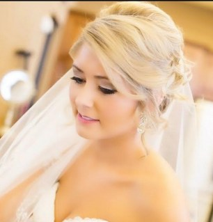 Bridal Makeup When Wedding in the Daytime 6