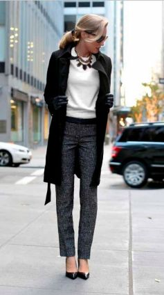 Business Winter Work Outfits for Women ideas 23