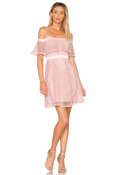 Classy evening shoulder lace dress for all special events 17