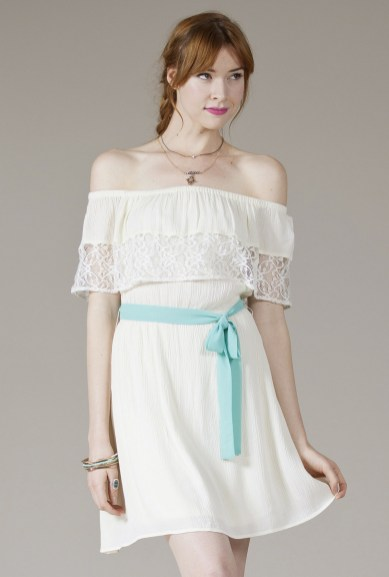 Classy evening shoulder lace dress for all special events 37