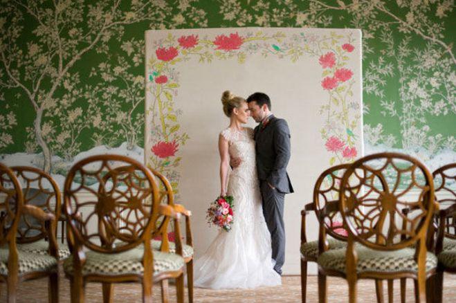 Creative And Fun Wedding day Reception Backdrops You Like Ideas 22