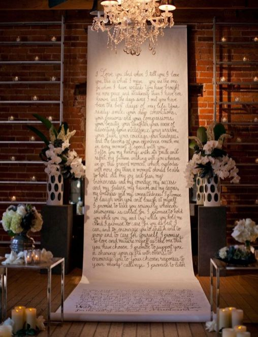 Creative And Fun Wedding day Reception Backdrops You Like Ideas 39