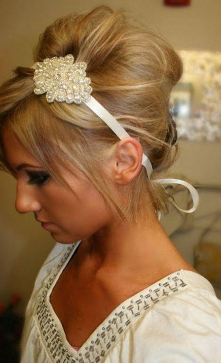 Easy DIY Wedding Day Hair Ideas 13