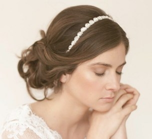 Easy DIY Wedding Day Hair Ideas 17