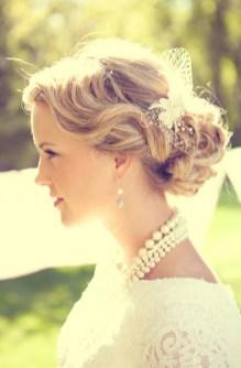 Easy DIY Wedding Day Hair Ideas 24