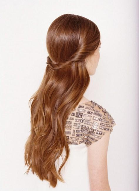Easy DIY Wedding Day Hair Ideas 26