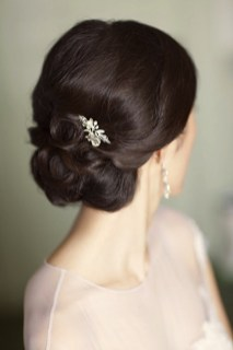 Easy DIY Wedding Day Hair Ideas 41