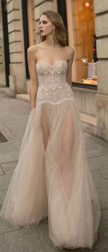 Embellished Wedding Gowns Ideas 13