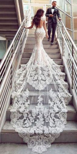 Embellished Wedding Gowns Ideas 16