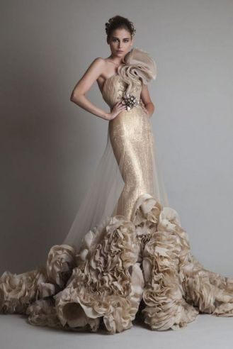 Embellished Wedding Gowns Ideas 2