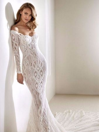 Embellished Wedding Gowns Ideas 27