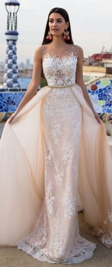Embellished Wedding Gowns Ideas 35