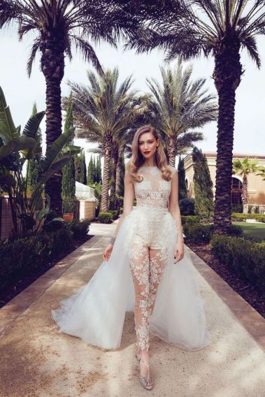 Embellished Wedding Gowns Ideas 5