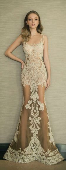 Embellished Wedding Gowns Ideas 7