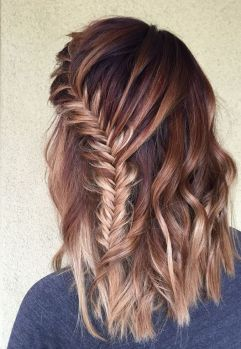 Fishtail Hairstyles for all situations 1