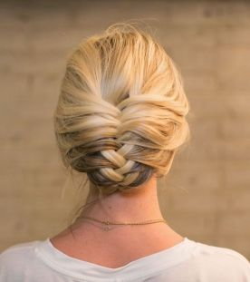Fishtail Hairstyles for all situations 11