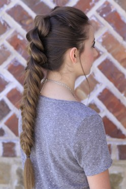 Fishtail Hairstyles for all situations 12
